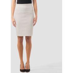 Joseph Ribkoff skirt ($105) ❤ liked on Polyvore featuring skirts, nylon skirt, joseph ribkoff and joseph ribkoff skirts
