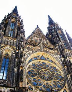 #Prague Castle - St. Vitus Cathedral
