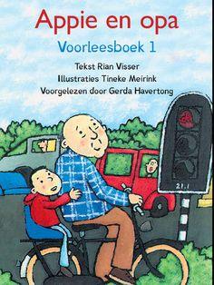 Appie en opa, voorleesboek. Kinderen kunnen zelfstandig luisteren. iPad app. Kinderboekenweek 2016, voor altijd jong!