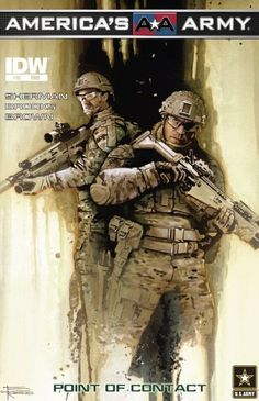 Check out America's Army #10: Point of Contact on @comixology