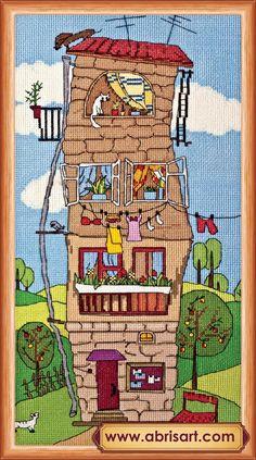 """Набор для вышивки крестом """"Летний домик"""""""