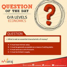 Here's another challenging question for you to answer. Do you know the right answer? #Mairaj #Olevel #Alevel #CIE #Economics #Business #AskMAIRAJ