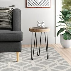 Zipcode Design Melani Floor End Table End Table Sets, Wood End Tables, End Tables With Storage, Wall Mount Electric Fireplace, Floating Wall, Nesting Tables, Entertainment Center, Tvs, Living Room Furniture