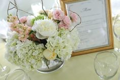 Style Me Pretty | Gallery | Picture | #485373 - centerpieces? clearly, without the dead sticks.