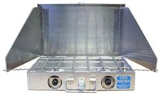 The Partner Steel Cook Partner Stove is a great propane stove for camping or river rafting trips