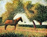 Georges Seurat The Harnessed Horse - The Largest Art reproductions Center In Our website. Low Wholesale Prices Great Pricing Quality Hand paintings for saleGeorges Seurat Georges Seurat, Seurat Paintings, Farm Paintings, Wassily Kandinsky, Gustav Klimt, Monet, Paul Signac, Picasso, Most Famous Paintings