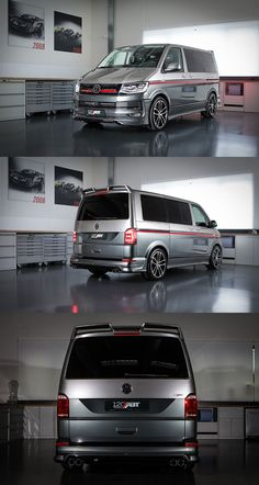 ABT VW Jubiläumsausgabe mit 235 PS - Auto Shows in Germany – Appointments from January 2019 Volkswagen Transporter, Volkswagen Bus, Vw T5 Campervan, T3 Vw, Transporter T3, Vw Camper, Vw Caravelle, Jeep Cars, Vw Cars