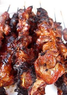 Let Me Tempt You: Sweet and Tangy Filipino-Style Barbecue:  this looks so yummy!