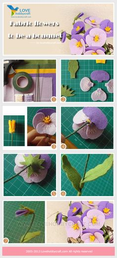 Fabric-flowers-to-be-a-bouquet