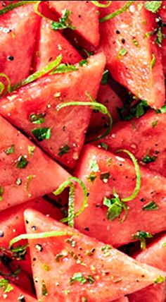 Mojito Watermelon - a must have side dish for summer barbecues!