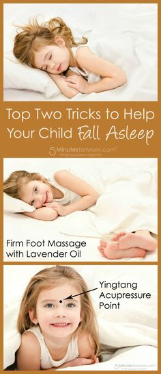 Top Two Tricks to Help Your Child Fall Asleep