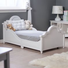 Have to have it. Kidkraft Raleigh Toddler Bed White $161.28