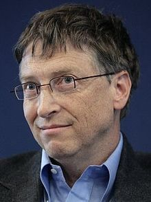 Bill Gates, co-founder, former CEO and current chairman of Microsoft