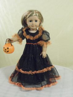 Halloween Fancy Dress for your American Girl by CarmelinaCreations