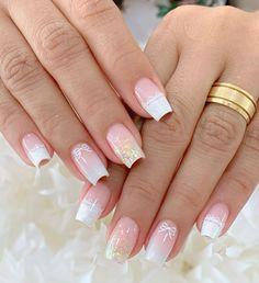 Manicure e pedicure Simple Nail Art Designs, Easy Nail Art, Acrylic Nail Designs, French Acrylic Nails, Best Acrylic Nails, How To Do Nails, My Nails, Nail Picking, Manicure E Pedicure