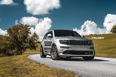 Take a look at the Unmatched Style: Jeep Grand Cherokee SRT Fitted With VELGEN Custom Wheels photos and go back to customizing your vehicle with renewed passion. Jeep Srt8, Jeep Wrangler Lifted, Lifted Jeeps, Jeep Wranglers, Jeep Grand Cherokee Accessories, Jeep Grand Cherokee Srt, Hemi Engine, Srt Hellcat, Dodge Chrysler