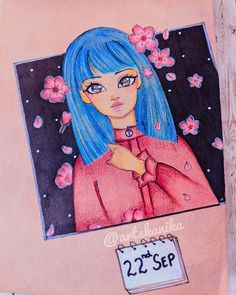 Anime kawaii girl sketch blossom cherryblossom cute sketch Kawaii Girl, Kawaii Anime, Cute Sketches, Girl Sketch, Disney Inspired, Fashion Sketches, Anime Art, Disney Characters, Fictional Characters