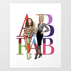 Absolutely Fabulous Art Print by Christopher Ables