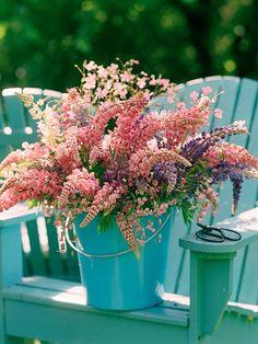pink & turquiose