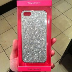 Victoria's Secret phone case I'm starting to like the glitter trend like a lot