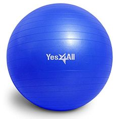 InfiDeals - 55 cm, 65 cm, 75 cm Professional Anti-burst Stability Balancing Ball - Yoga Ball/Fitness Ball/Exercise Ball >>> More info could be found at the image url. (This is an affiliate link) #ExerciseBallsAccessories