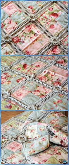 Crochet Fabric Quilt Blanket Free Pattern - Crochet Crochet Summer Blanket Free Patterns