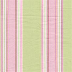 Taffeta Stripe Citrus Pink Roth Tompkins Fabric