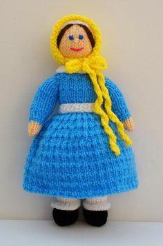 Jane - A Victorian Doll Knitting Pattern | Craftsy