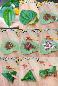 Meetha Paan (Betel leaf mouth freshener)