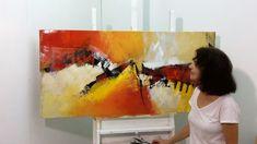 Pintura em Tela - Pintura em Tela Reciclada - Tela 2