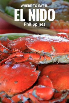 El Nido, Palawan is known for its captivating places, but this paradise in the Philippines also has great food. Here is where to eat in El Nido, Palawan. Wine Recipes, Great Recipes, El Nido Palawan, Palawan Island, Drinking Around The World, Philippines Food, Asia Travel, Travel Plane, Along The Way