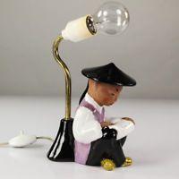 Carli Bauer Keramik Lampe Sitzender Lesener Chinese Keramik WKM Austria 50er alt Ebay, Chinese, Modern, Interiors, Lighting, Ceramic Lamps, Tablewares, Trendy Tree, Decoration Home