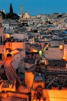 The Sassi of Matera, Basilicata, Italy