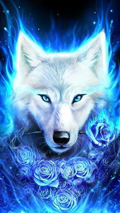 Cute Galaxy Wolf Wallpapers Top Free Cute Galaxy Wolf Backgrounds WallpaperAccess Wolf spirit animal Wolf wallpaper Wolf artwork