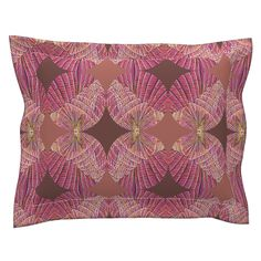 Sebright Pillow Sham with Flanged Detail featuring Popsabe by joancaronil | Roostery Home Decor