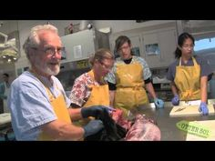 At the California Department of Fish & Game's Wildlife Veterinarian Lab in Santa Cruz, a team of scientists performs necropsies (animal autopsies) on sea otters to find out what is killing this threatened species. Warning: this video has some graphic content. Let us know what you think about Otter 501: A webStory by completing our short survey at http://www.surveymonkey.com/s/LF9DGTM.