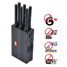 Buy Portable 4G lte 4G wimax 3G + Wifi Signal Blocker Jammer online shop  http://www.phonejammer.com.au/portable-4g-lte-4g-wimax-3g-wifi-signal-blocker-jammer-p-21.html