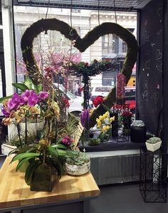 Bildresultat för flower shop window displays