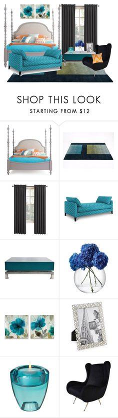 """Orange Blue"" by zulpha-mohamed ❤ liked on Polyvore featuring interior, interiors, interior design, home, home decor, interior decorating, Umbra, Sun Zero, Maison Jansen and LSA International"