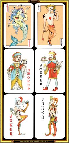 Colección de naipes - Playing cards