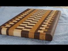 Build a wood cutting board using Cutting Board Designer