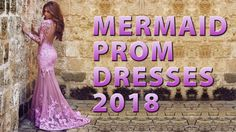 Affordable Mermaid Prom Dresses 2018 From MillyBridal - Fashion Party Dr...