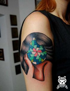 Contemporary Abstract Tattoos