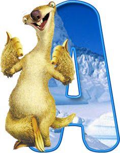 Alfabeto de Ice Age, especial Sid.