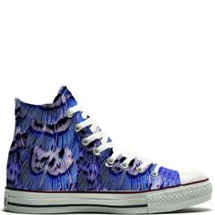 186a2d649220 UNiCKZ All Stars Fantasy Feathers. Painted SneakersShoe ...