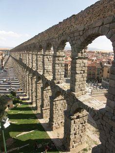 Segovia Acueducto by Arnim Schulz, via Flickr ~ Castille and Leon