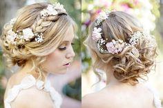 Tocados de flores para tu boda