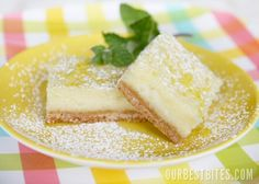 """Divine!  Jen's Take - no words, hands down, the best """"creamy"""" lemon bars.  Not your standard lemon bar - these definitely are cream cheesy goodness.  A definite keeper!"""