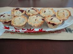 These delicious mini-pies hit the spot, with the complex flavors of spiced pastry, berries and cointreau.