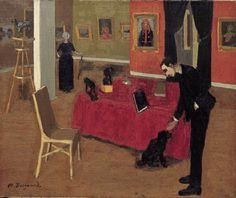 La Galerie Vallotton by Marius Borgeaud